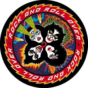 KISS - Rock N Roll Over Button (Pack Of 2)