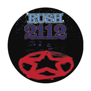Rush - 2112 Pinback Button (Pack Of 2)