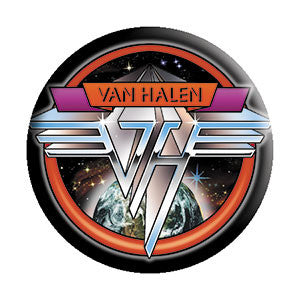 Van Halen - Space Logo Button - Pack Of 2