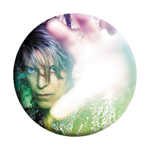 David Bowie - Face Rainbow Pinback Button (Pack Of 2)