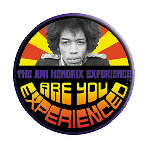 Jimi Hendrix - Experience Circle - Pinback Button (Pack Of 2)