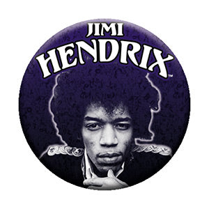 Jimi Hendrix - Experience Framed - Pinback Button (Pack Of 2)