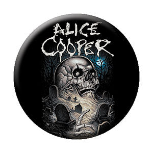 Alice Cooper - Graveyard - Pinback Button (Pack Of 2)