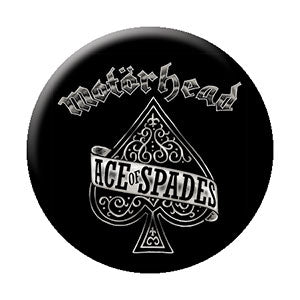 Motorhead - Ace Of Spades Pinback Button (Pack Of 2)