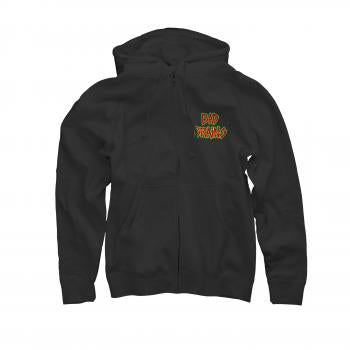Bad Brains - Front Logo Zip Hoodie