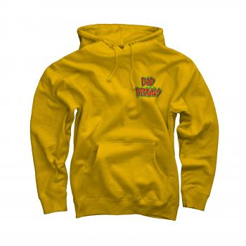 Bad Brains - Front Logo On Yellow Pullover Hoodie