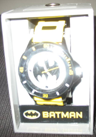 Batman - Watch With Gift Box - Rubber Strap - Dark Knight