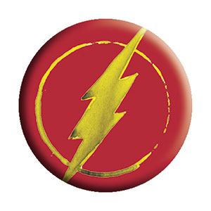 The Flash - Logo Pinback Button (Pack Of 2)