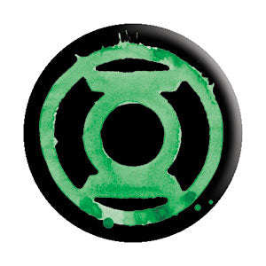 Green Lantern - Logo Pinback Button (Pack Of 2)