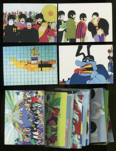 The Beatles - Yellow Submarine Collector Trading Cards 72 Card Set
