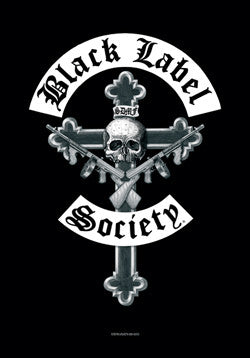 Black Label Society - Cross Poster Flag