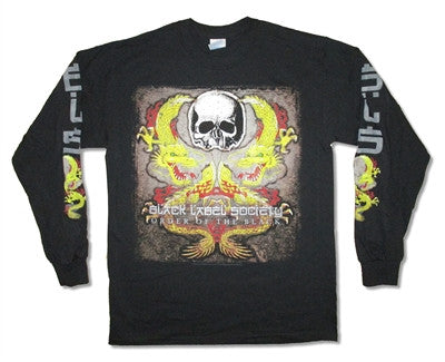 Black Label Society - Dragon Tour Longsleeve Shirt