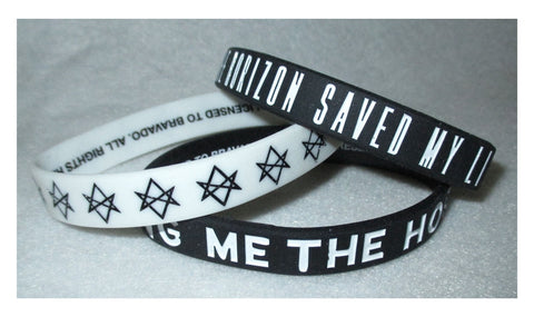 Bring Me The Horizon - Rubber Bracelet Wristband Set