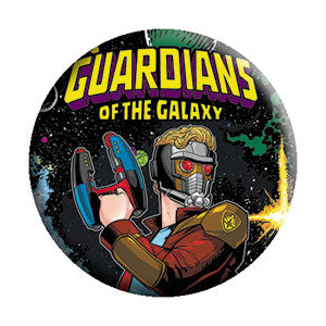 Guardians of the Galaxy - Classic Pinback Button (Pack Of 2)