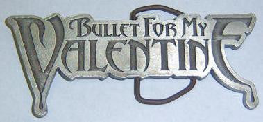 Bullet For My Valentine - Logo Belt Buckle