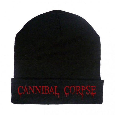 Cannibal Corpse - Embroidered Red Logo Beanie