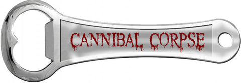Cannibal Corpse - Logo Silver Bottle Opener