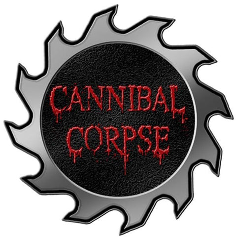 Cannibal Corpse - Saw Lapel Pin Badge