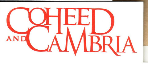 Coheed & Cambria - Sticker - Rub On Die Cut Logo