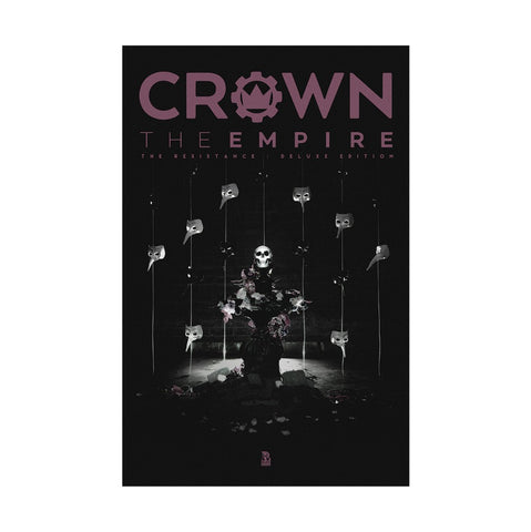 Crown The Empire - Poster - Resist. Deluxe 11x17