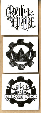Crown The Empire - Sticker Set - Crown Logo