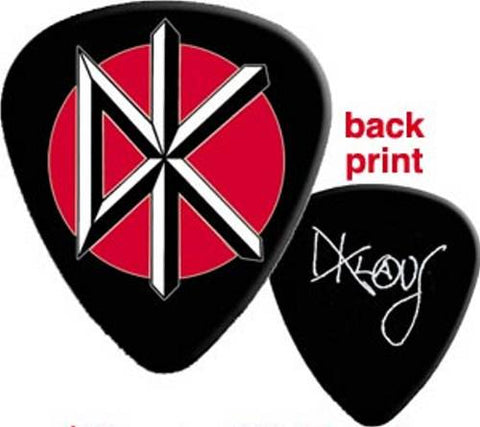 Dead Kennedys - Pack Of 2 Black Guitar Picks