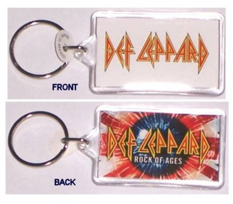 Def Leppard - Double-Sided Key Chain