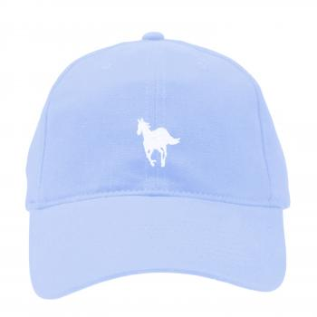Deftones - Light Blue White Pony Hat