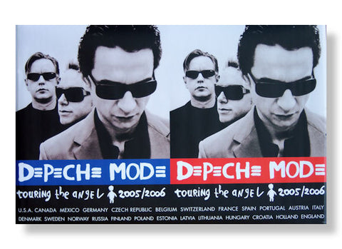 Depeche Mode - Double Image Rolled - Poster