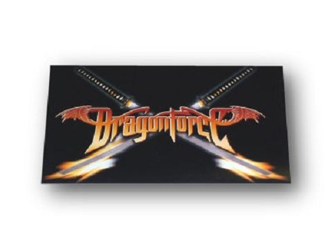 DragonForce - Sticker - Crossfire Logo - Power Speed Metal - Licensed New