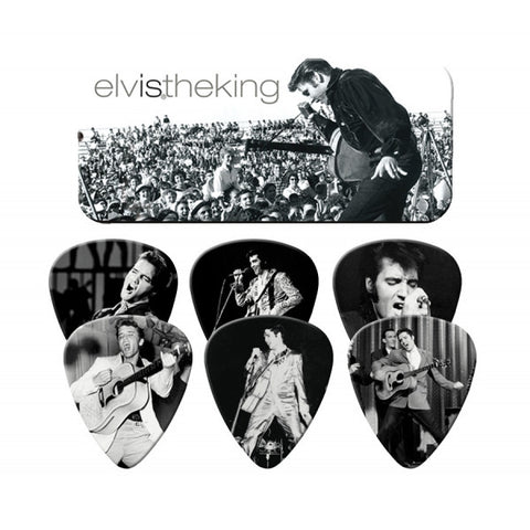 Elvis Presley - King Guitar Pick Tin