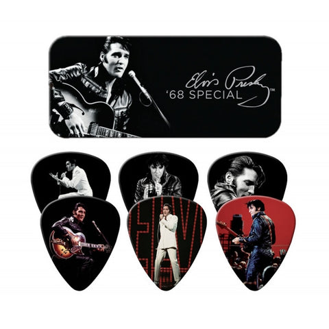 Elvis Presley - 68 Special Guitar Pick Tin
