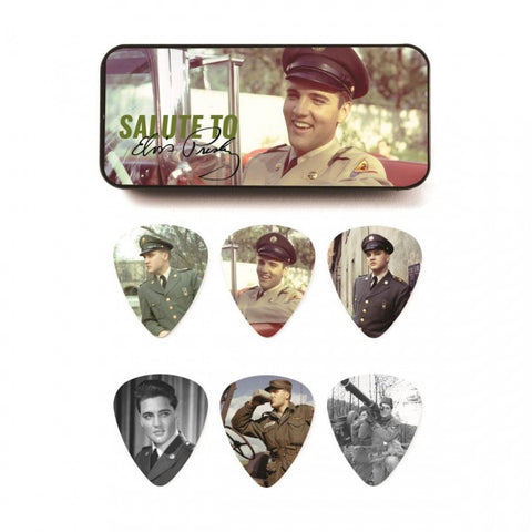 Elvis Presley - Salute Guitar Pick Tin