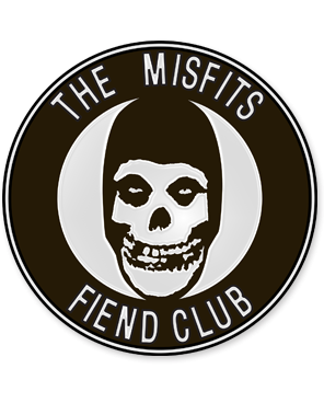 Misfits - Fiend Club Enamel Lapel Pin Badge