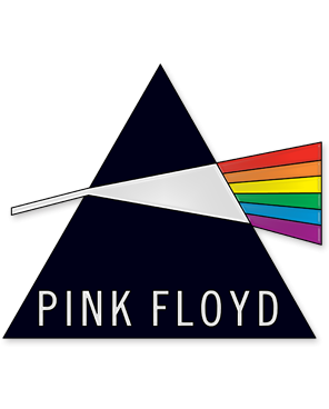 Pink Floyd - Prism Enamel Lapel Pin Badge