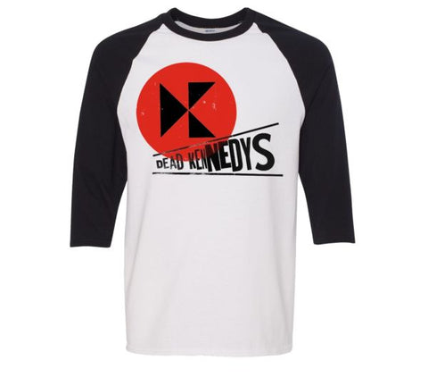 Dead Kennedys - Gig Poster Baseball Jersey Tee
