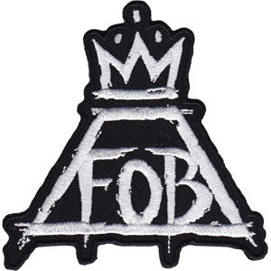 Fall Out Boy - Crown Patch
