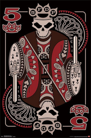Five Finger Death Punch - Poster - Kings