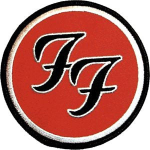 Foo Fighters - Double F Patch