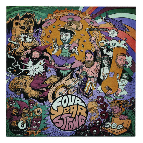 Four Year Strong - Sticker - Artwork Logo