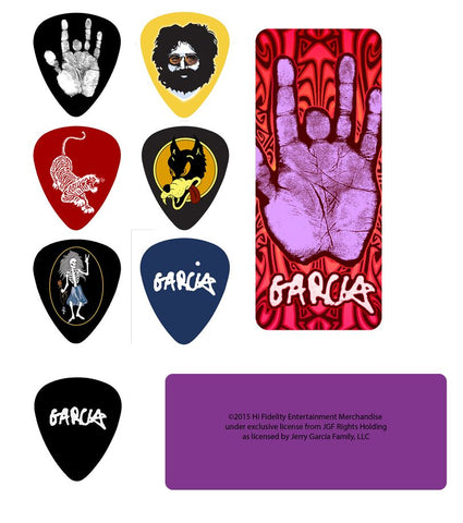 Grateful Dead - Jerry Garcia Guitar Pick Tin