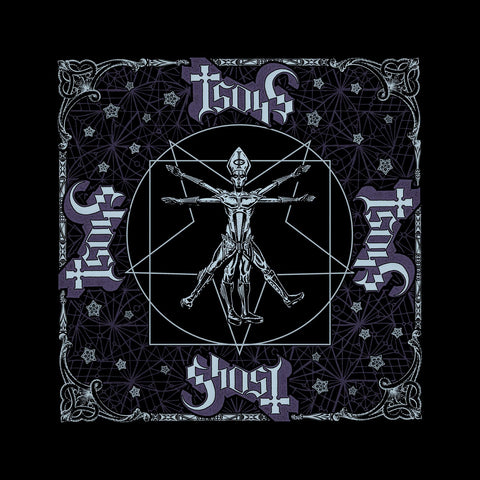 Ghost - Bandana - Vitruvian Logo - UK Import - Licensed New
