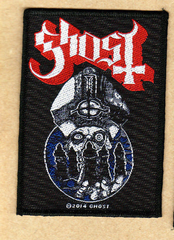 Ghost - Patch - Woven - UK Import - Warriors - Collector's Patch - Licensed New