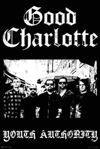Good Charlotte - Group Logo Poster