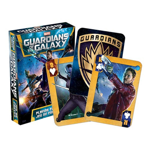 Guardians Of The Galaxy Movie Playing Cards - Marvel