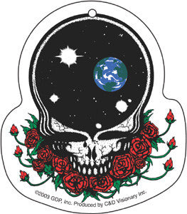 Grateful Dead - Space Your Face Air Freshener