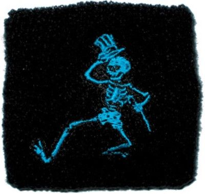 Grateful Dead - Wristband - Skeleton - Terrycloth - Sweatband