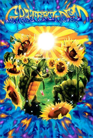 Grateful Dead - Poster - Terrapin Sunflower - Licensed New In Plastic-Rolled