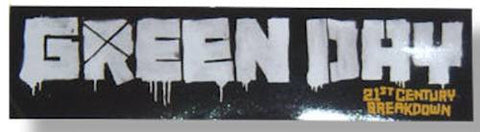 Green Day - Sticker - Logo