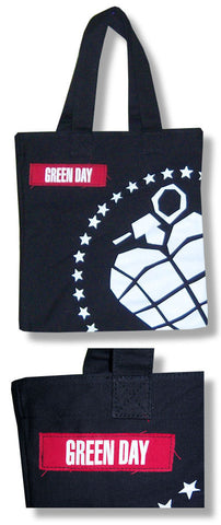 Green Day - Big Grenade Tote Bag